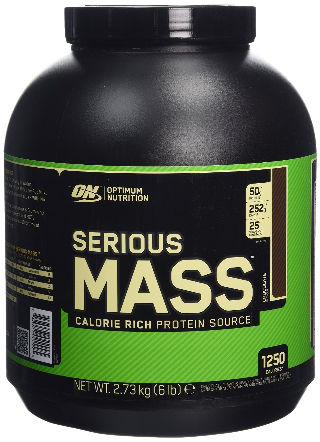 proteine optimum nutrition serious mass chocolat