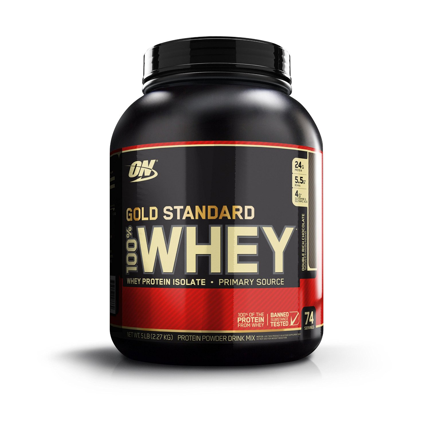 Proteine whey gold standard double chocolat